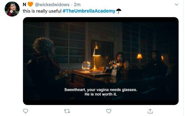 The Umbrella Academy Season 2 Memes Twitter Reactions Funny Umbrella Umbrella Academy