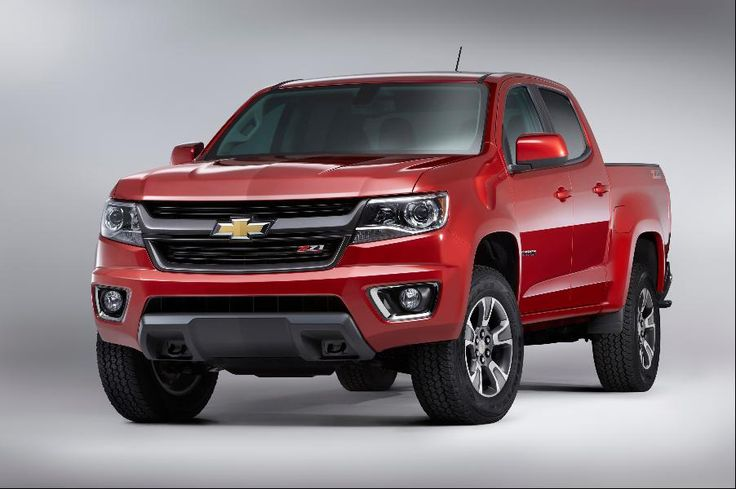 Mid-Size Pickup Truck: Chevrolet Colorado Crew Cab