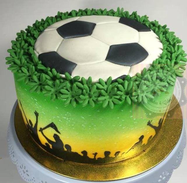 BOLO FUTEBOL - TORTA FUTEBOL - FOOTBALL CAKE