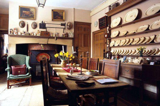 Avenue House, home of Sir Albert Richardson, Ampthill, Bedfordshire, 1785. Image: Christopher Simon Sykes for World of Interiors, via The Times.
