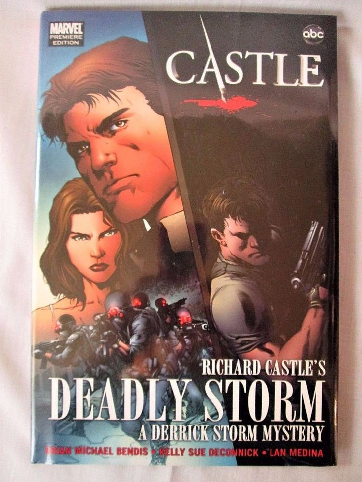 CASTLE ABC Marvel Comic Priemiere Ed Graphic Novel SEALED Hardcover Deadly Storm