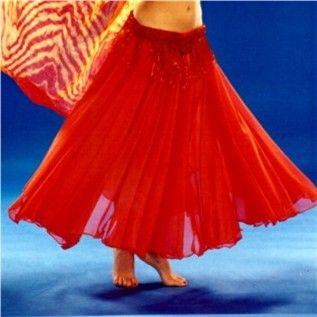 How to Make a Full Belly Dance Skirt in 9 Steps