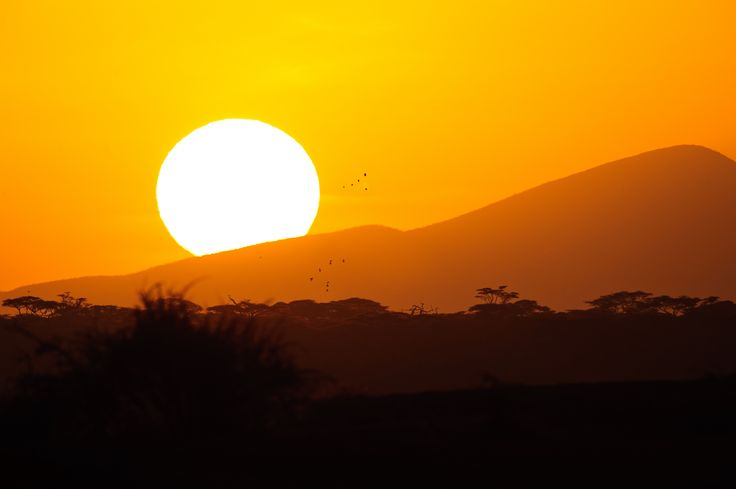 https://flic.kr/p/saSNYd | Ngorongoro Conservation Area, Tanzania, 2014 | Sunrise over the hills in the Ndutu area of the Ngorongoro Conservation Area, Tanzania.