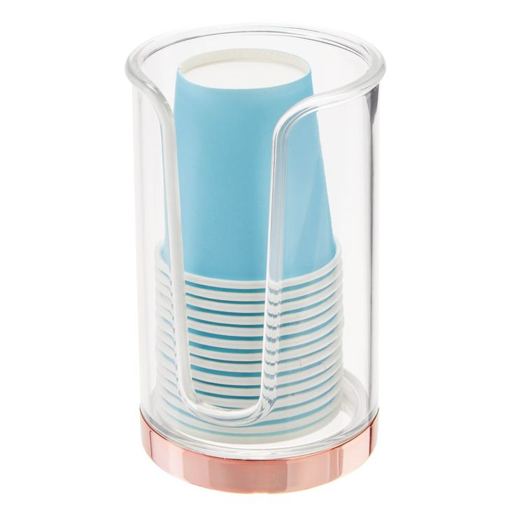 Disposable Paper Cup Dispenser Holder For Bathroom Vanity By