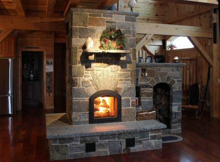 Image Result For Masonry Fireplace Radiant Heat Masonry