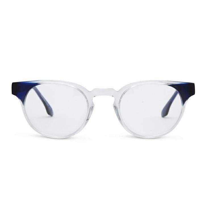 NEW COLOUR CG - Bailey in Crystal Indigo - Claire Goldsmith Eyewear - #clairegoldsmith #glasses #eyewear