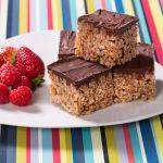 Caramel Fudge Crunch Slice Recipe