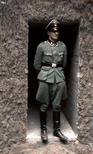 Rochus Misch Hitler's personal bodyguard