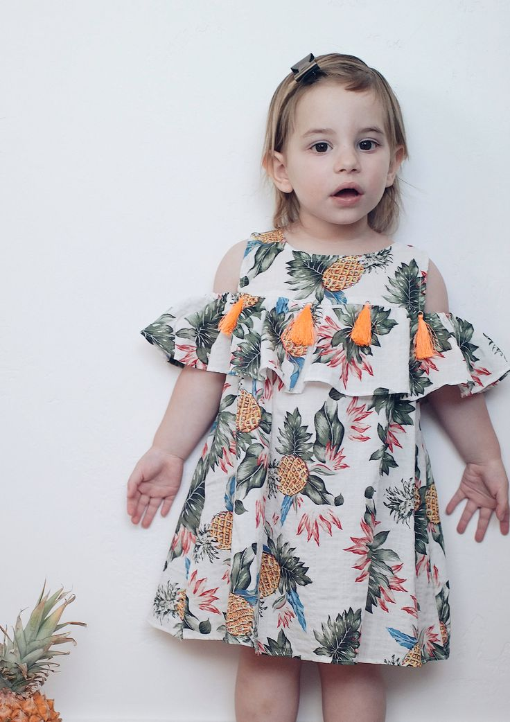 Pineapple Summer Dress | Etsy