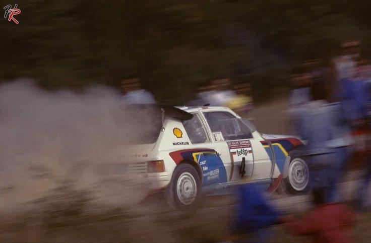 205 T16 Rally di Sanremo 1986