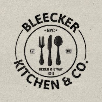 logo: Bleecker Kitchen & Co. #logo #restaurant #NYC