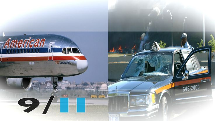 On the morning of 11 September 2001, 19 hijackers took control of four commercial passenger jets flying out of airports on the east coast of the United States. Two of the aircraft were deliberately flown into the main two towers (the Twin Towers) of the World Trade Center in New York, with a third hitting the Pentagon in Virginia.