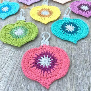 Crochet for Christmas: Vintage Christmas Ornament   Atty's   Bloglovin'                                                                                                                                                                                 More