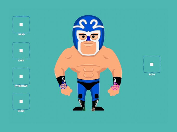 Wrestler Rig Test by Ezequiel Diaz de Leon
