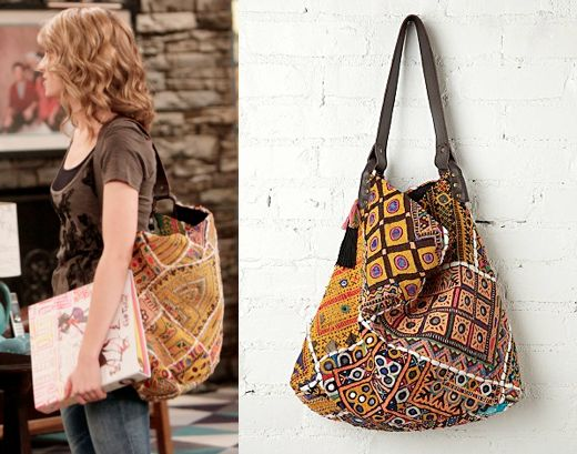 "Teddy Duncan (Bridgit Mendler) wears a Free People Vintage Tapestry Tote in Good Luck Charlie Season 4 Episode 11 ""Teddy's Choice."" *Note* Each bag is handmade so patterns will vary. #teddyduncan #goodluckcharlie #disney"
