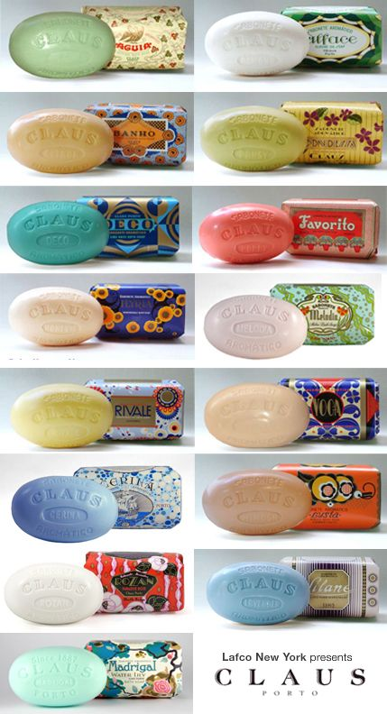 Claus Porto soaps - how to choose? Made in Portugal since 1887