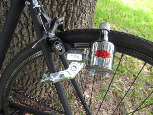 how to make a simple bicycle dynamo