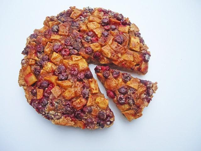 Apple cranberry rum cake http://gingerbreadbagels.com/2010/11/16/apple ...
