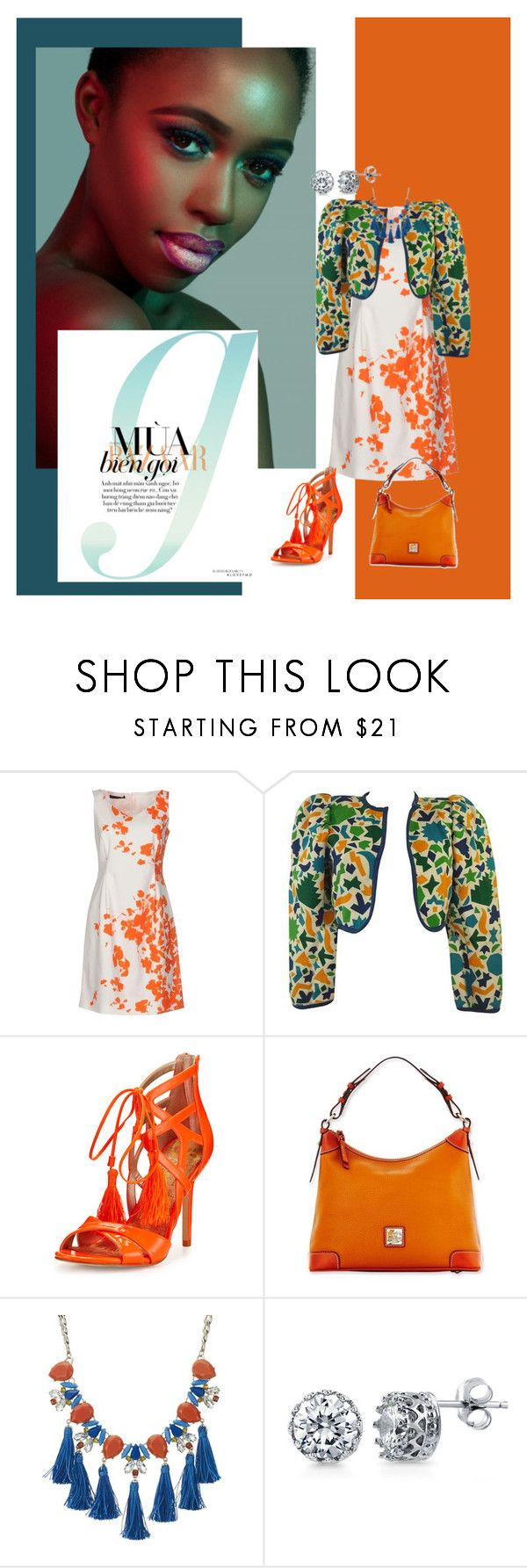 """""""I'm not here for you (pls read description)"""" by scope-stilettos ❤ liked on Polyvore featuring Blue Les Copains, Yves Saint Laurent, Sam Edelman, Dooney & Bourke, Red Herring and BERRICLE"""