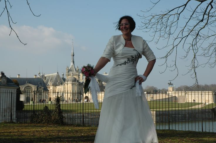 #photomariée #chantilly #mariée #forêtdechantilly #chateaudechantilly #princesse #romantique #mariage #amour #delaolivapolyne