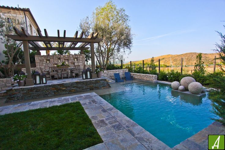 17 best images about custom swimming pools on pinterest for Pool design orange county ca