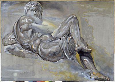 Senza titolo. Giorno dalla tomba di Giuliano de' Medici di Michelangelo
