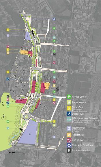 Urbanização do Jardim Colombo, em São Paulo, abre espaço para parque linear…