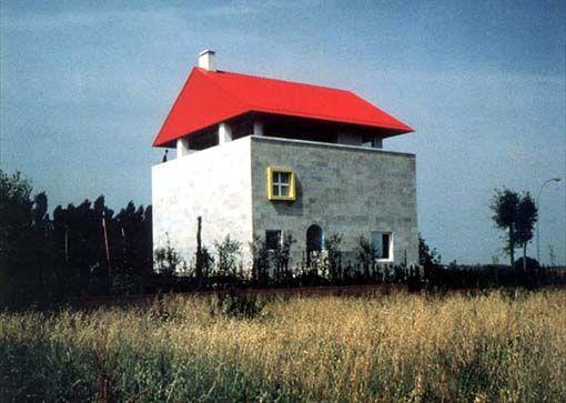 ettore sottsass / casa CEI / Empoli / 1991