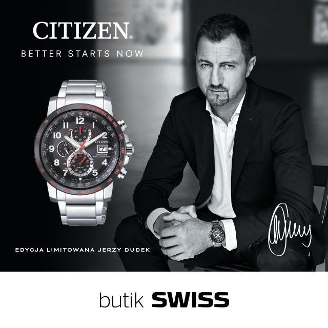 Zasilany światłem, synchronizowany radiowo, limitowany model zegarka CITIZEN - sygnowany przez Jerzego Dudka! Tylko 500 sztuk! CITIZEN Eco-Drive Radio Controlled (nr ref. ref 245 772) Zapraszamy do butiku SWISS!  Zobacz wszystkie zegarki Citizen http://bit.ly/2sxeA9A