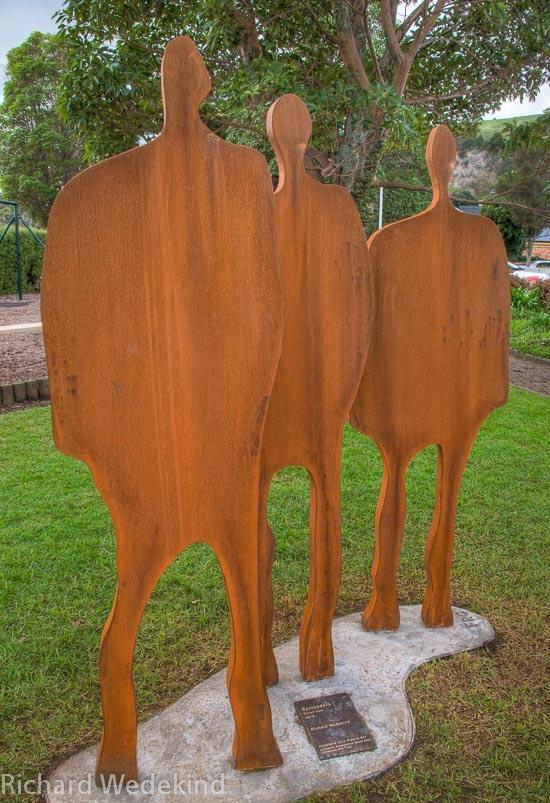 Bystanders: public art commission for Mt. Eden.