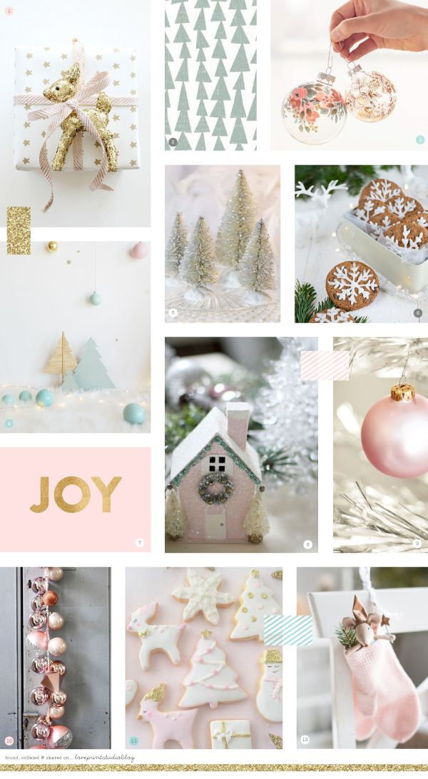 The next installment of Christmassy moodboards today.   So far, we've had a classic Christmas ,   a cool Christmas ,   and next up, is a ...