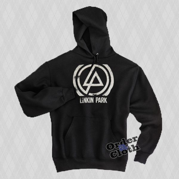 Linkin Park Logo Hoodie from orderacloth.com This hoodie is Made To Order, one by one printed so we can control the quality.