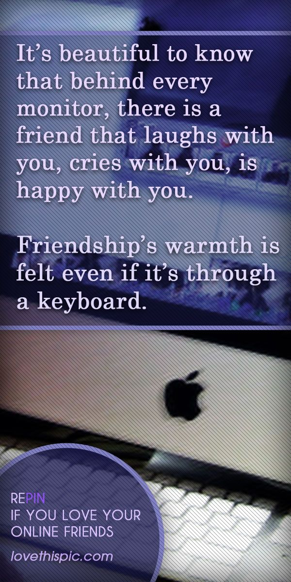 Friendship quotes friendship quote friends happy keyboard online friends