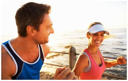 Cardiovascular activity can not only burn tons of calories, but also expand your lung capacity, flex your heart muscle, and release those oh-so-fabulous endorphins into the brain!