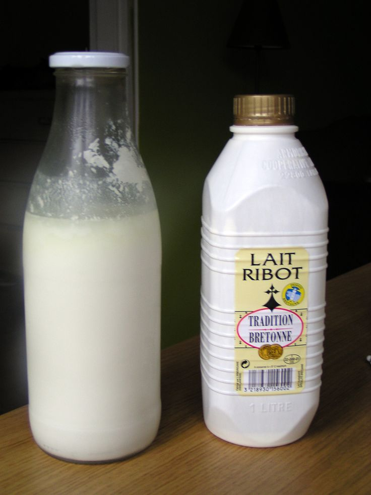 Lait Ribot (lait fermenté) - Bretagne. An Teusac'h !