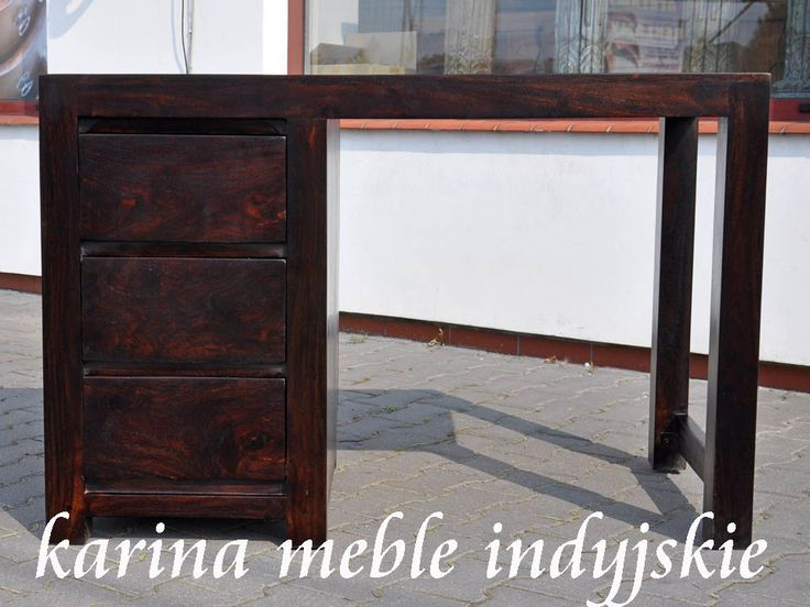 kolonialne biurko LD-12 dark brown
