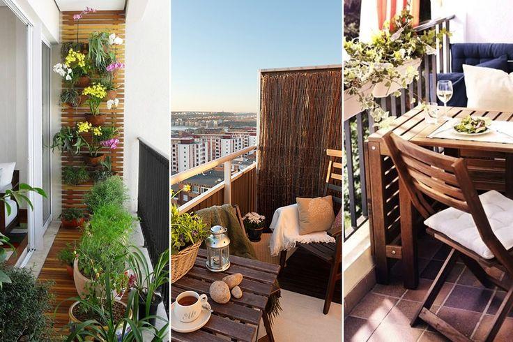 aranżacja balkonu