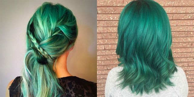 Emerald hair: i capelli verdi che luccicano come smeraldi -cosmopolitan.it