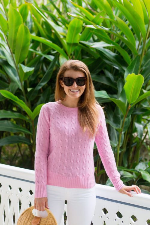 How to Score Two Cable Knit Cashmere Sweaters for the Price of One