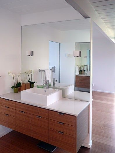 28 best mid century modern bathrooms images on pinterest for Mid century modern master bathroom