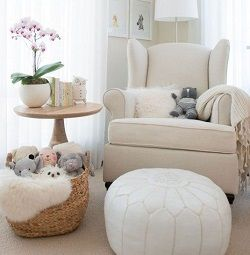 Chair table sheers and toy basket for a cozy feeding corner You Canu0027t Live Without a Nursery Chair! Best Brands in Recliners Rockers and Gliders & Best 25+ Gliders ideas on Pinterest | DIY toys sugar glider Sugar ... islam-shia.org