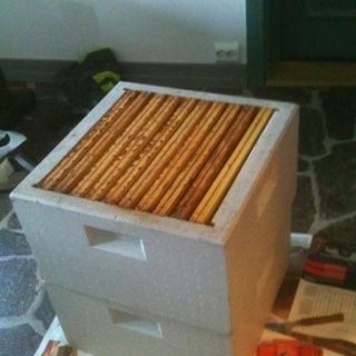 Boxes full of honey:)