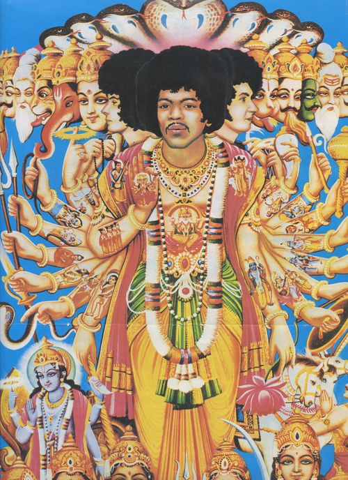 """"""" Music is my Religion.""""  ~ Jimi Hendrix  Beautifull LP cover 1967 Axis Bold as Love"""