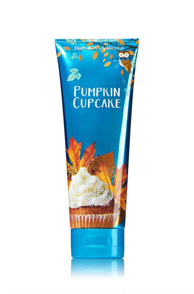 Pumpkin Cupcake Ultra Shea Body Cream - Signature Collection - Bath & Body…