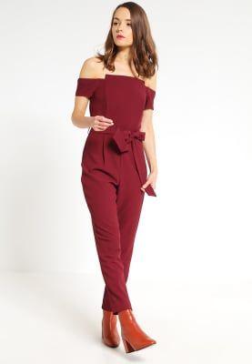 Köp Miss Selfridge Petite Overall / Jumpsuit - burgundy för 799,00 kr (2017-01-23) fraktfritt på Zalando.se