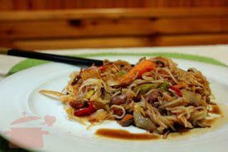 Cucinare che Passione: Vermicelli di riso con pollo