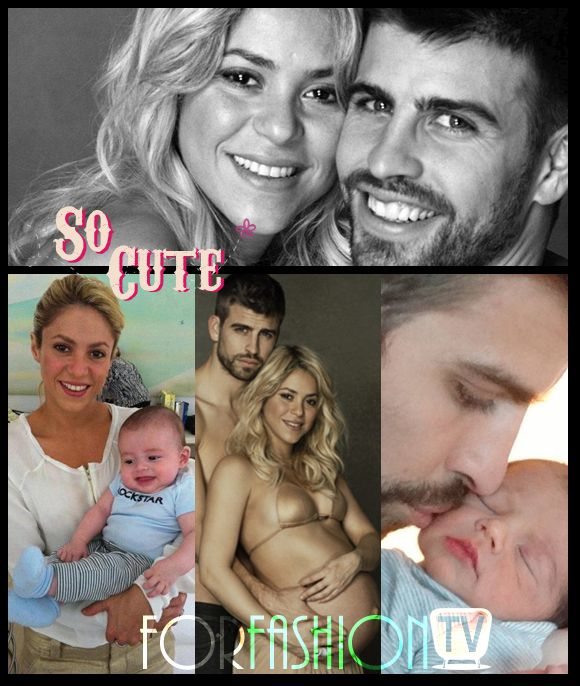 So Cute ! Shakira Can't Stop Breast Feeding Baby Milan