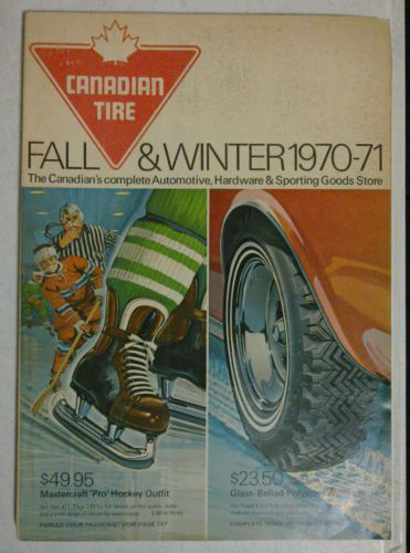 Vintage CANADIAN TIRE Catalogue, Fall & Winter 1970-71.  APPARENTLY... when I was three or so I always carried around my Canadian Tire catalogue, an extension cord and an 'ironer'...
