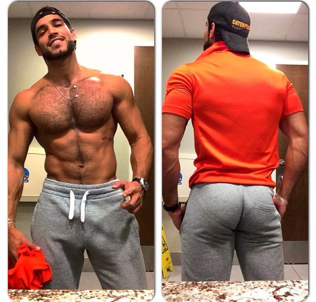 Hairy Muscle Ass