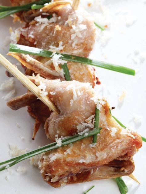Quaglie allo zenzero: Ginger-Infused Quail